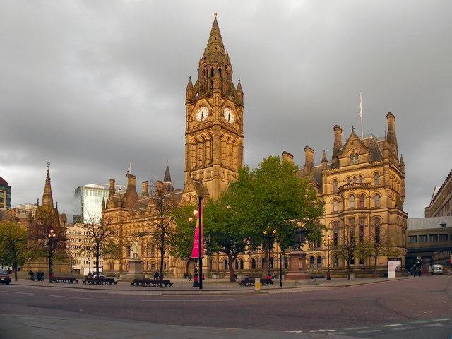 Albert Square Manchester